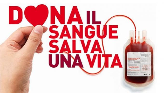 Dona il sangue, salva una vita.
